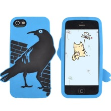 OEM Soft Silicone Rubber Material Ultra Thick Protective Mobile Cell Phone Case For Iphone Cute Gift For Kids Boys Teens Girls