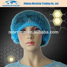 Available in various colors Hair Dust Net Disposable Mob Caps Stretch Non Woven Spa Lab Cap