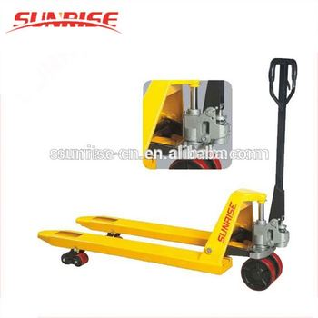 2 ton hand manual pallet truck china hydraulic pallet stacker truck