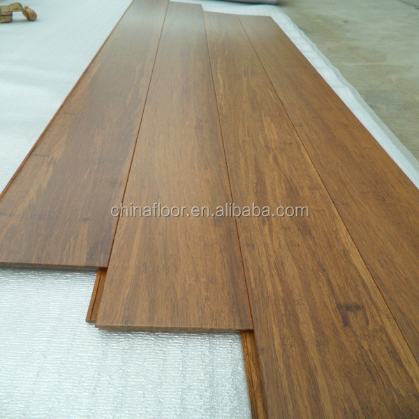 Popular Coffee Compressed Strand Woven Bamboo Flooring