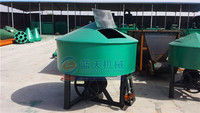 Industrial high efficient liquid dry small coal charcoal powder mixer