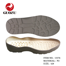 light weight pu sole men safety shoes making material