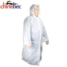 Waterproof Coat Disposable Adult Hooded Blankets Raincoat Poncho