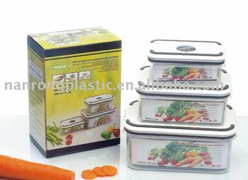 plastic food container,TPR food container