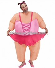 Funny inflatable Fat Muscle Costume halloween costumes for adults