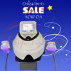 Cryolipolaser slimming machine / cryotherapy equipment
