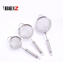 Hot Sales Stainless Steel Fine Tea Mesh Strainer With Stainless Steel Handle