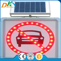 Solar Powered traffic road safety led flashing arrow sign, arrow sign board