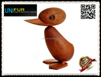 Modern lovely large 18cm teak wood Architectmade Duck