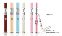 2014 510 dct dual coil vaporizer kamry 1.0 vape with automatic short-circuit detection