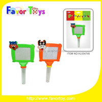 Drawing board Plastic promotion candy toy for kids.