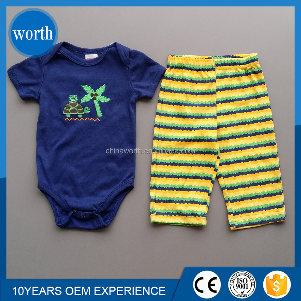customized baby clothing sets kids clothing suits baby toddlers overall romper