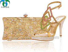 2014 New Style Italian Shoe and Bag Set for Wedding TSB986