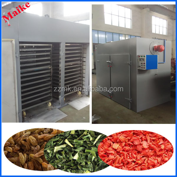 Low cost stainless steel industrial hot air dryer