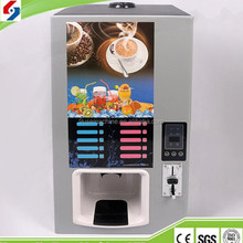 European coffee vending machine