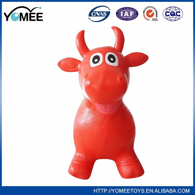 PVC inflatable jumping animal toy