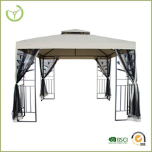 Outdoor-10' by 10' square garden with mosquito net g two corner used gazebo for sale