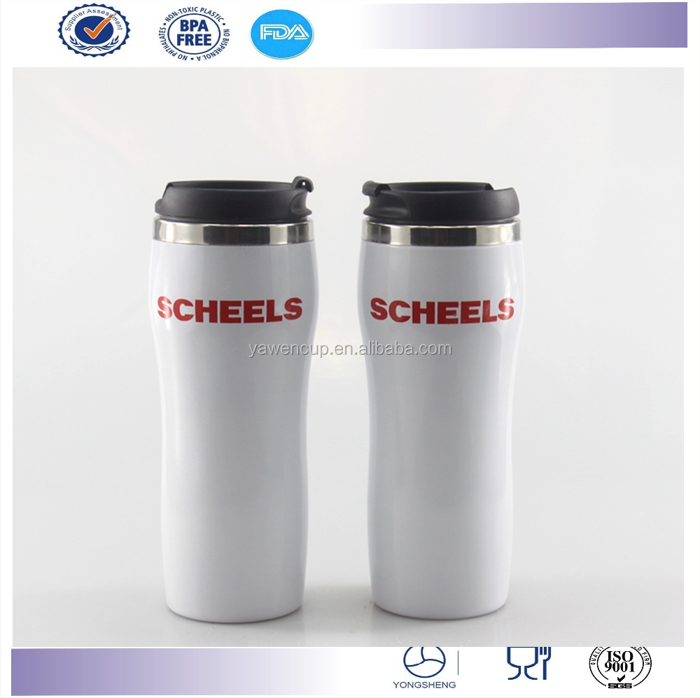 Promotion BPA free blank double wall heat insulated vacuum stainless steel sublimation mug wholesale
