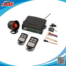 One way auto arming/disarming easy install car alarm system