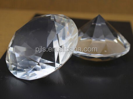 diamond paper weight marriaged lover cheap small crystal gifts