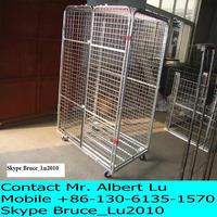 Metal Cage Warehouse Roll Cage