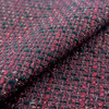 Hign Quality jacquard woolen fabric natural drape and touch soft