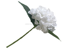 China supplier silk pearl white hydrangea artificial flower wholesale