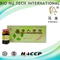 Health food promote blood circulation ginkgo biloba ginseng extract liquid
