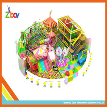 Best Quality Kids Indoor Trampoline Soft Play Amusement Park