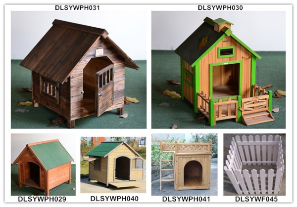 Decorative Wooden Pet House Dog Kennel