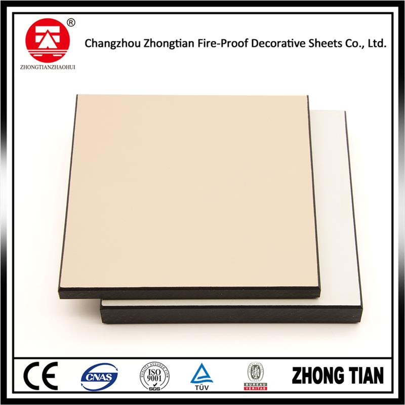 New design exterior compact laminate panel with low price