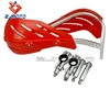 "HG-15-RD Red ZJMOTO 7/8"" Aluminium Brush Bar led hand protector / protection guard for dit bike off road motorcycles"