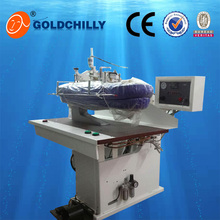 easy operation steam ironing press machine for dry cleaning shop