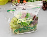 Plastic grape packaging bags with air hole
