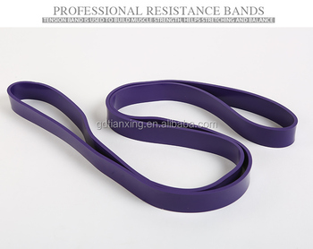 Ballet Foot Stretch Elastic Exercise Latex Resistance Loop Band