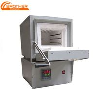 Updated Programable High temperature 1700C Electric Laboratory Mini Muffle Furnace with high purity heating element