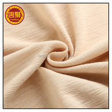 2016 Eco-friendly knitting 100% organic cotton marquisette jersey fabric
