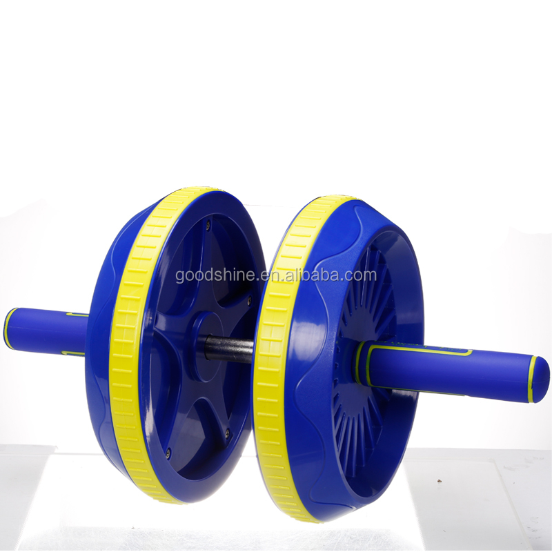 Chinese Manufacturer Gym Equipment Plastic Roller Wheel For Ab Zone Training