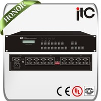 ITC VGA Series 8 in 2/4/8/16 Seamless VGA Matrix Switcher