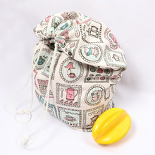 OEM mixed color polyester mesh taobao sublimation non woven drawstring bag stationary pouch