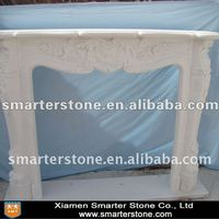 White Marble Fireplace Frame Fireplace Stove
