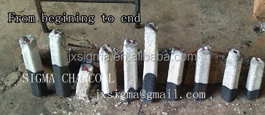 factory good quality bamboo bbq charcoal