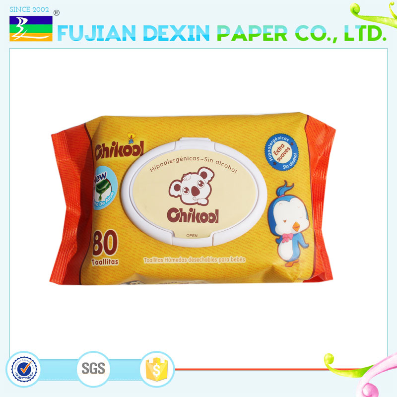 Wholesale hand and face cleaning wipes