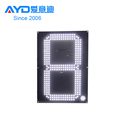 IP65 REGULAR White 3 Digits 7 Segment Electronics Scoreboard Wireless Gas Station LED Price Sign LED Open Sign20 inch
