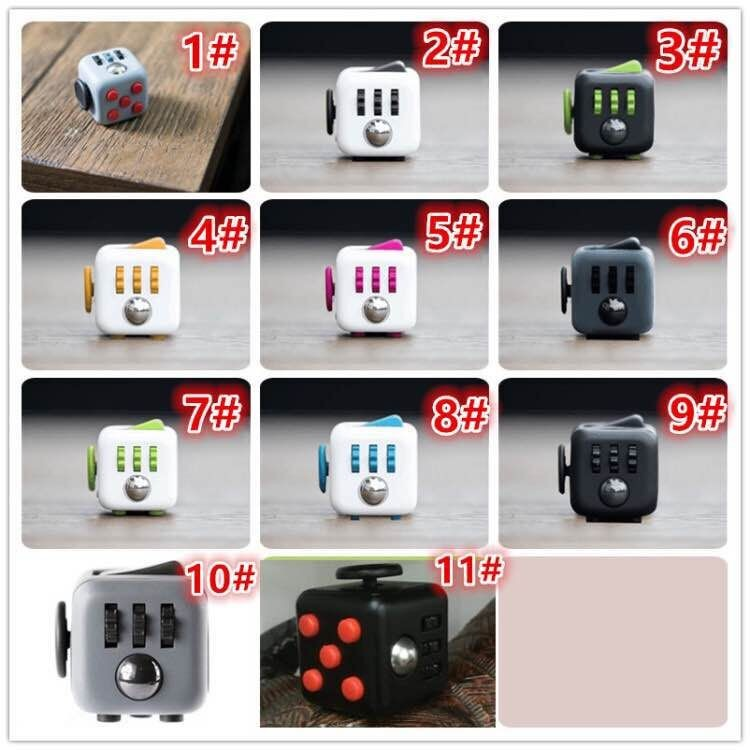 Fun Toys For Adults Anti Stress Desk Hand Fidget Cube