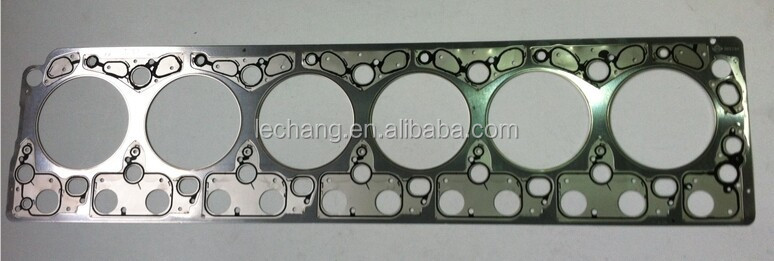 Stainless Cylinder Head Top Gasket for Engine OM906,OEM:9060161220