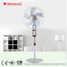 Cheap big fan body 20 Inch Large Stand Fan with Powerful Wind & heavy round base
