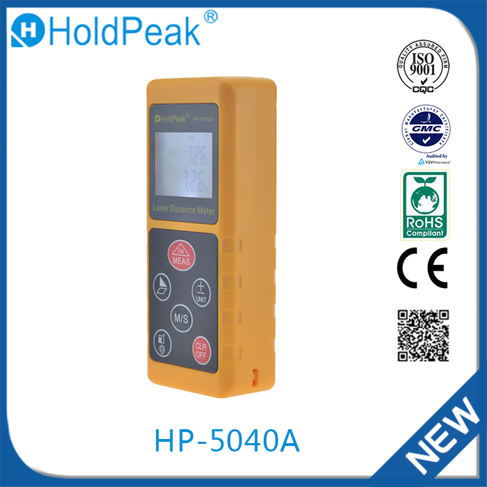 HP-5040A Hot Selling 2016 Laser Distance Measurer Multifunction Digital Altimeter