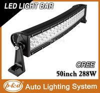 Strong bracket 50inch led light bar