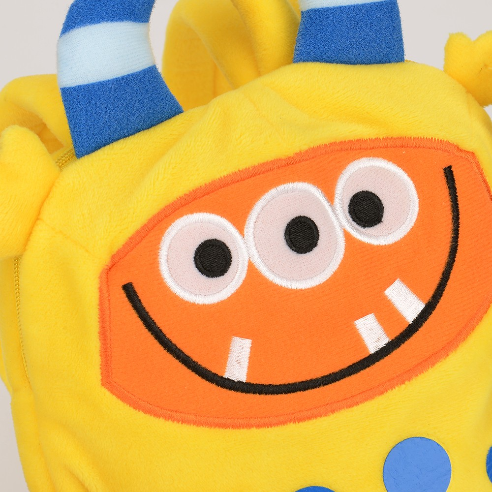 Original Custom Plush Milo the Monster Backpack School Bag